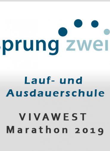 Lauftraining VIVAWEST Marathon 2019