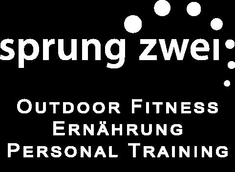 Sprungzwei LOGO Outdoor Fitness, Ernährung, Personal Training - transparent