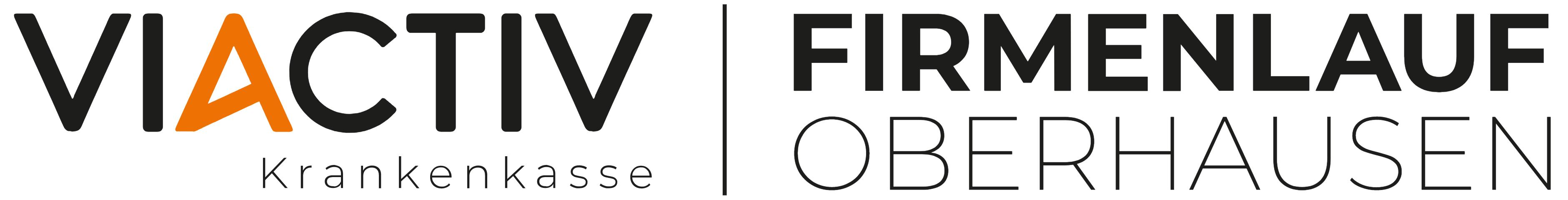 VIACTIV Firmenlauf Oberhausen Logo